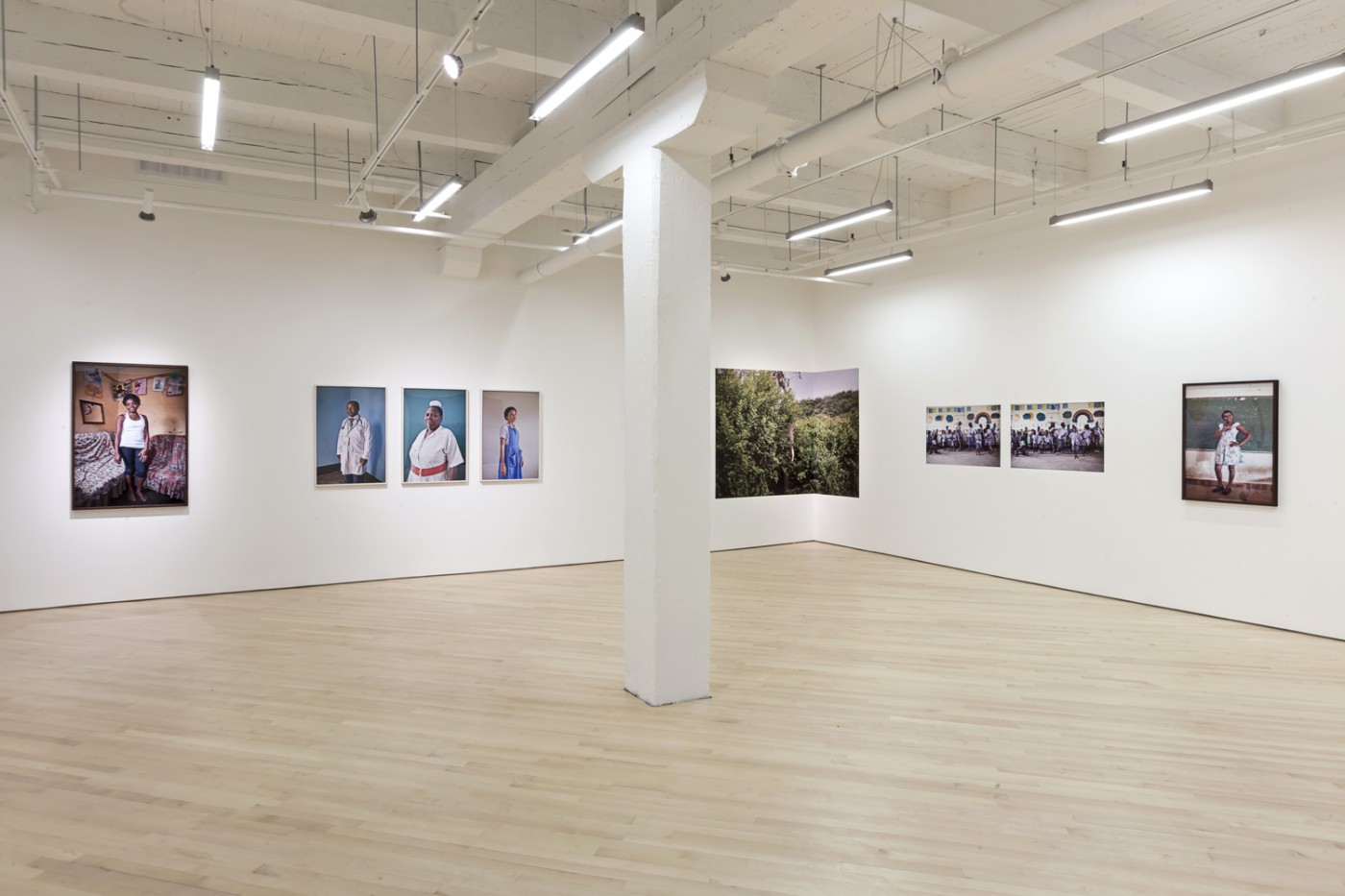 Installation view of Johan Hallberg-Campbell, </span><span><em>Nzirambi</em>, </span><span>2013