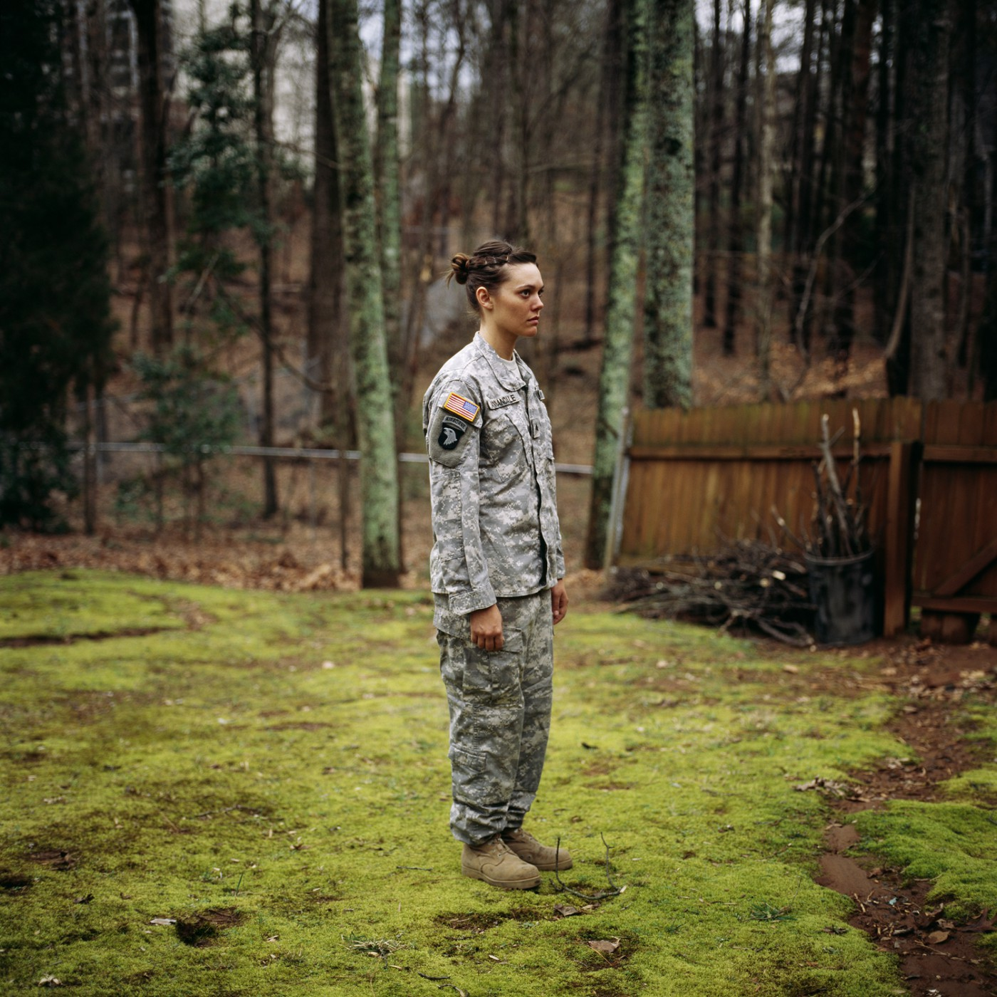 Guillaume Simoneau, </span><span><em>Wearing army uniform for me, Kennesaw, Georgia</em>, </span><span>2008