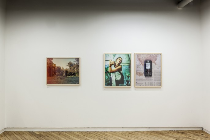 Installation view of Guillaume Simoneau, </span><span><em>Love and War</em>, </span><span>Photo: Toni Hafkenscheid