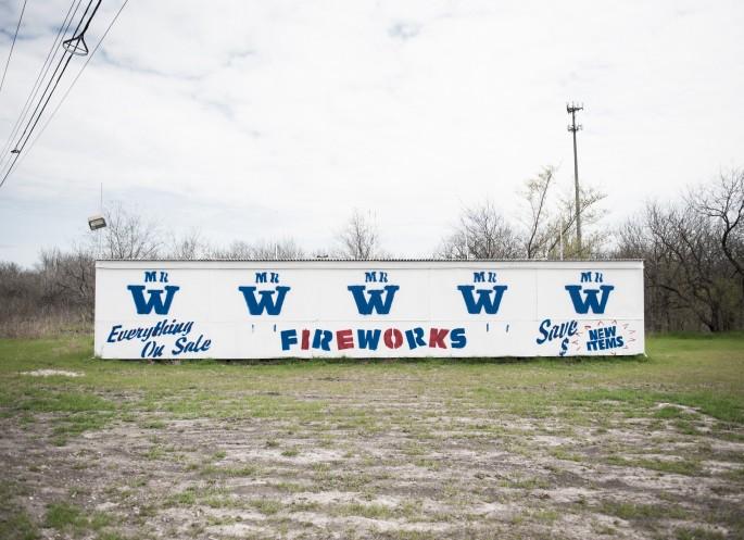 Jordan Nahmias, </span><span><em>Fireworks</em>, </span><span>2015, 50 x 36&quot;
