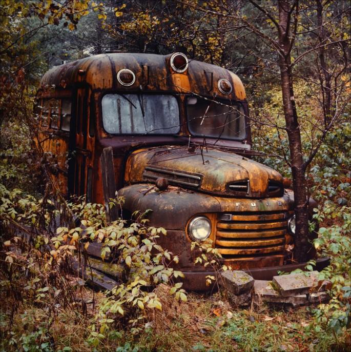 Jeff Powis, </span><span><em>The School Bus</em>, </span><span>1989