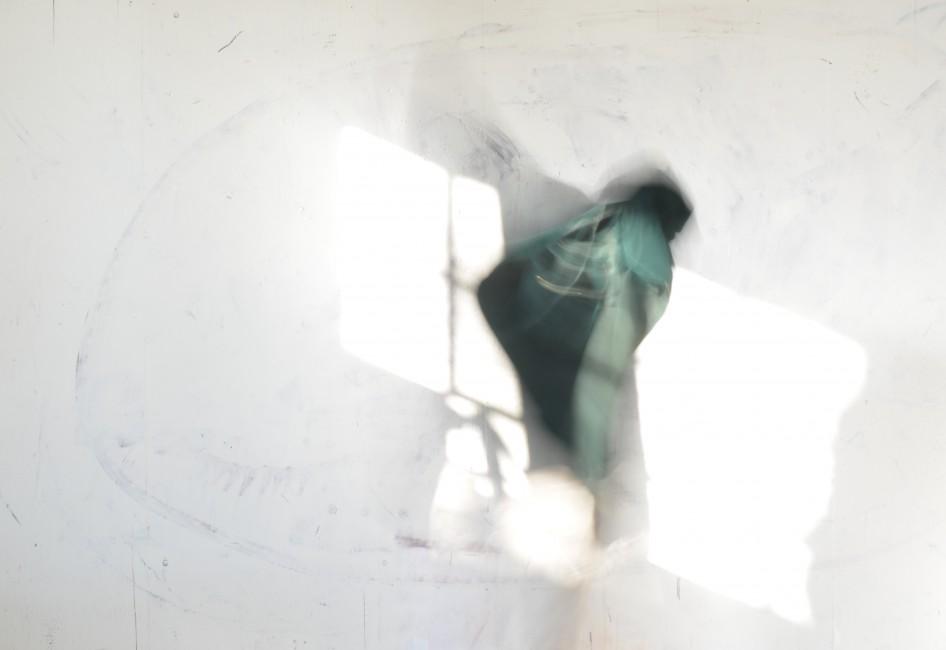 Nava Waxman, </span><span><em>Green Polyphony Stills #3</em>, </span><span>2017
