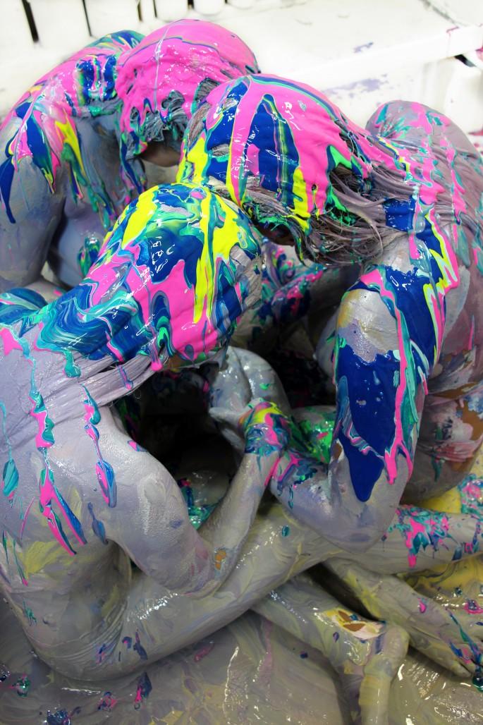 Stef Eleoff x Callen Schaub, </span><span><em>Ritual of Colour</em>, </span><span>2017