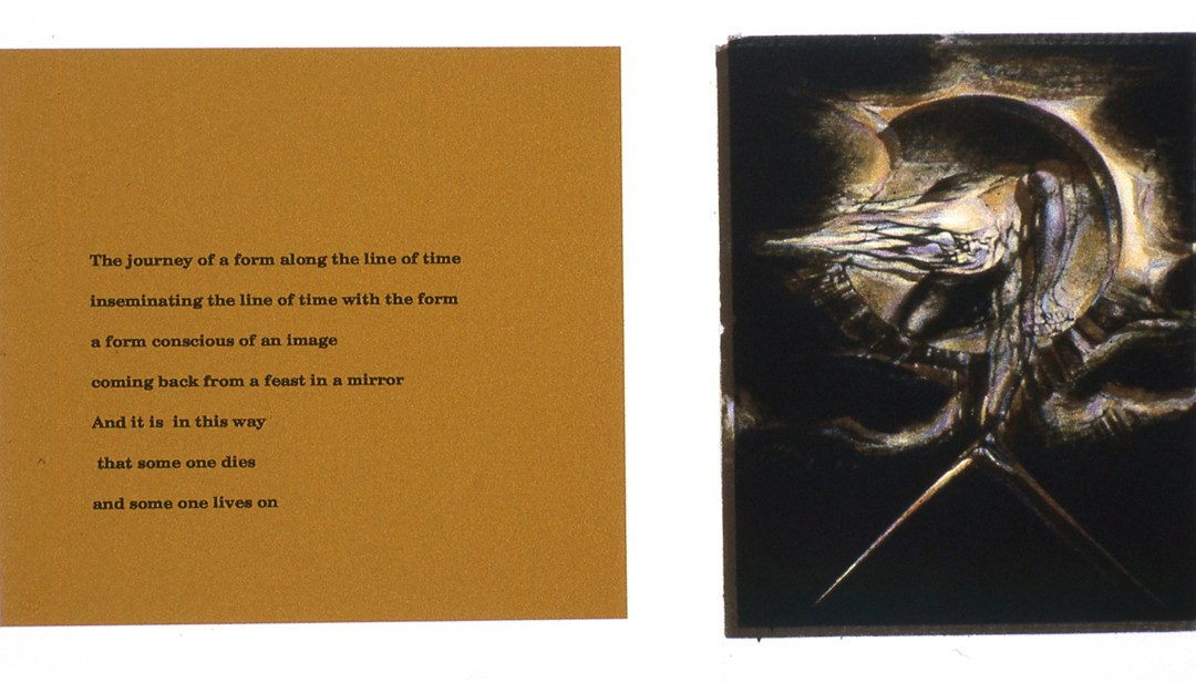 Parvaneh Radmard, B20: The Line of Time, Blake and poetry, 2013