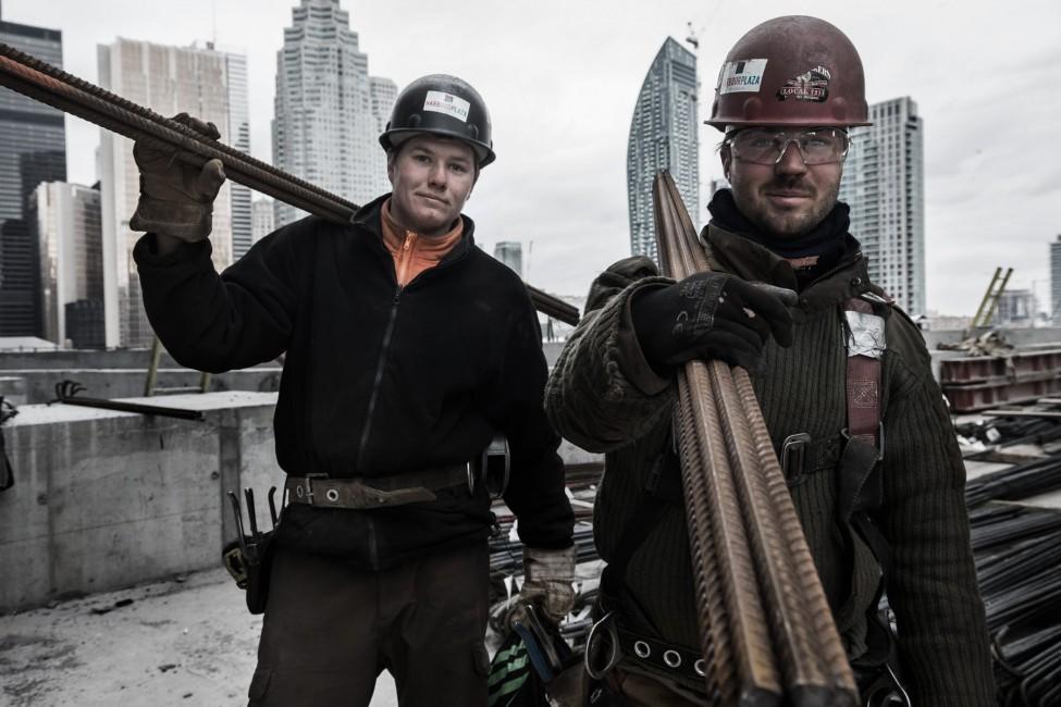 Paul Casselman, </span><span><em>Ironworkers, Toronto</em>, </span><span>2015