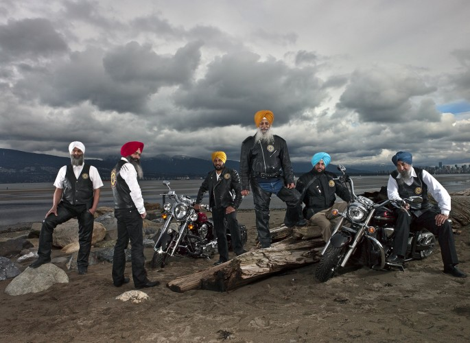 Naomi Harris, </span><span><em>Sikh Motorcycle Club, Vancouver, British Columbia</em>, </span><span>March 2012.