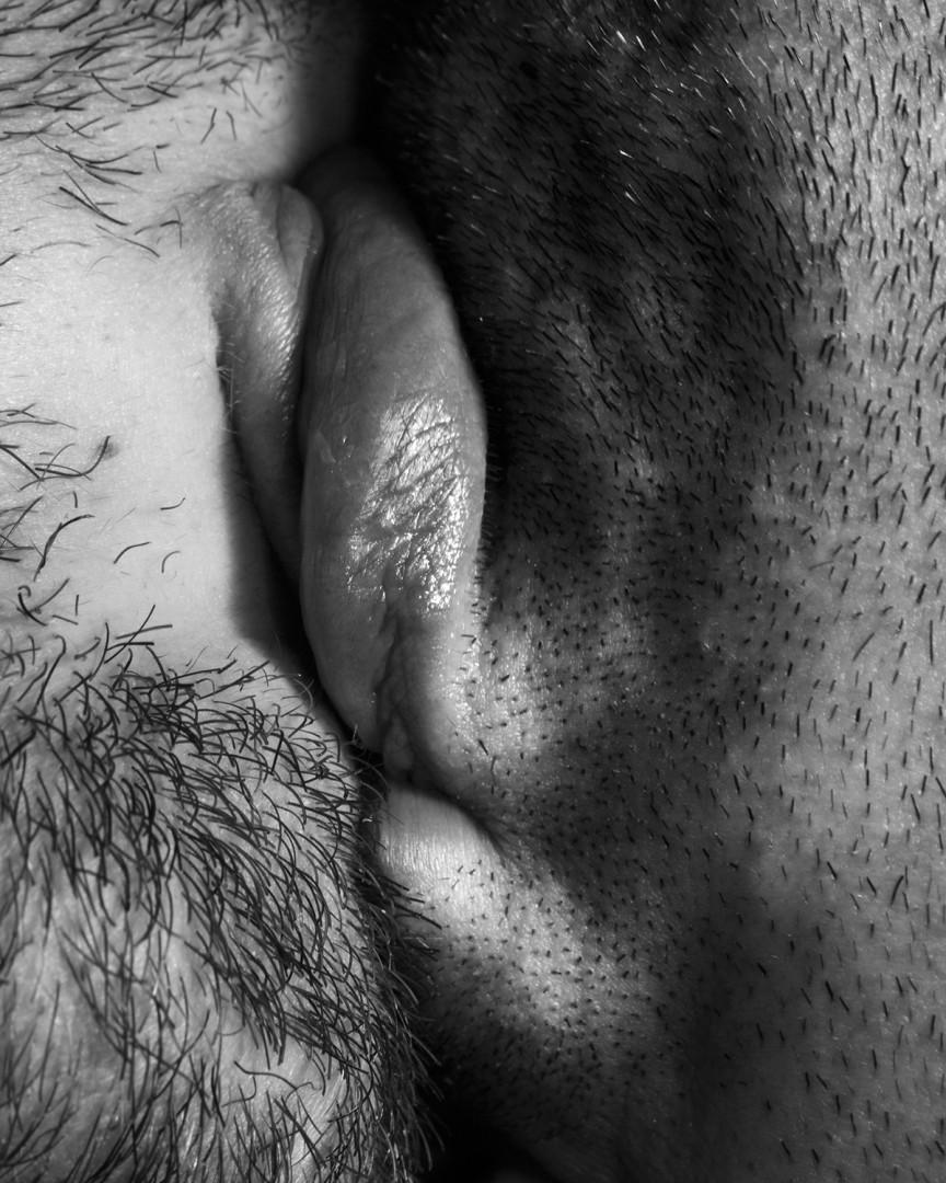 """Chris Curreri, Kiss Portfolio, 2016. Gelatin silver print, 12x12""""."""
