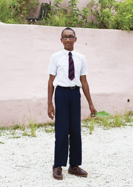 "Debra Friedman, </span><span><em>Dellwood Middle School, Bermuda</em>, </span><span>2015. Archival pigment print, 30x40""."