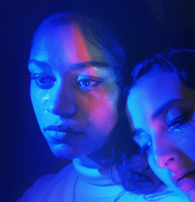 Petra Collins, </span><span><em>Jackie and Anna (rainbow tear)</em>, </span><span>2017.