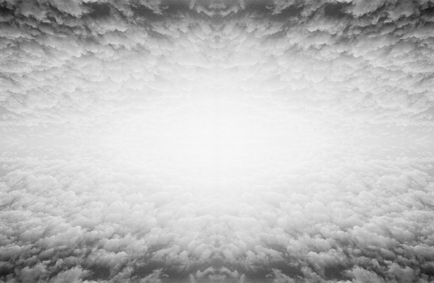 "Aaron Friend Lettner, </span><span><em>Clouds</em>, </span><span>p.42-43, 2017. Book, 8 x 10.5""."