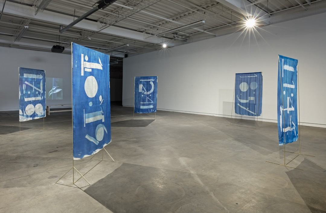 Installation view of Robin Cameron, Right Now, photo by Toni Hafkenscheid.