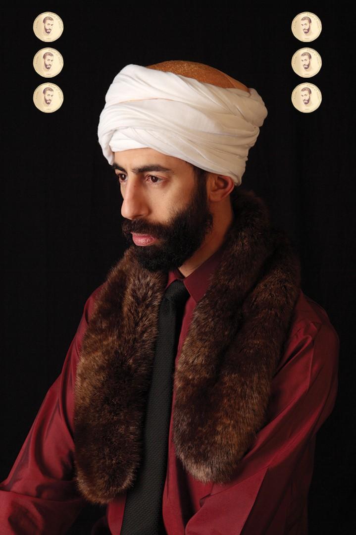 2Fik, Le Sultan Abdel, 2012. Archival pigment print, 50 × 33.