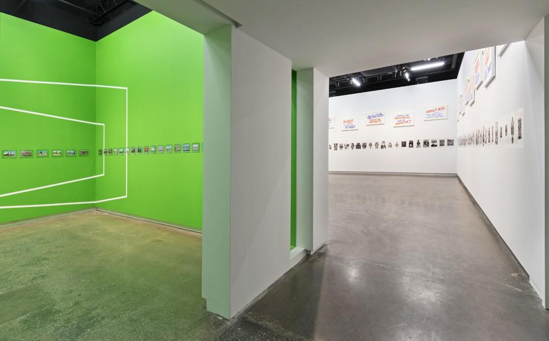 Installation view of Luis Jacob, </span><span><em>Habitat</em>, </span><span>photo by Toni Hafkenscheid.