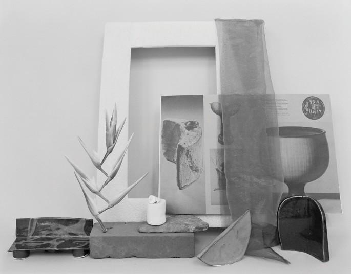 "Celia Perrin Sidarous, </span><span><em>Les formes inventées (pour A. M.)</em>, </span><span>2016. Inkjet print, 40 x 51"". Courtesy of the artist and Parisian Laundry."