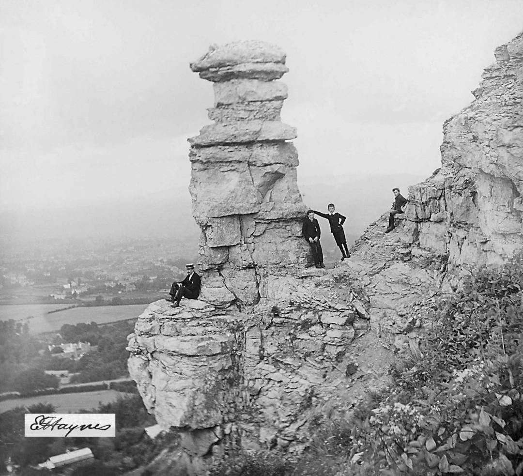 Edwin Haynes, </span><span><em>Chimney Point</em>