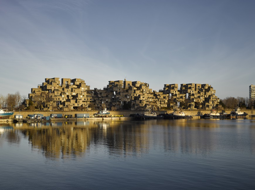 James Brittain, </span><span><em>Revisited: Habitat 67</em>, </span><span>2017