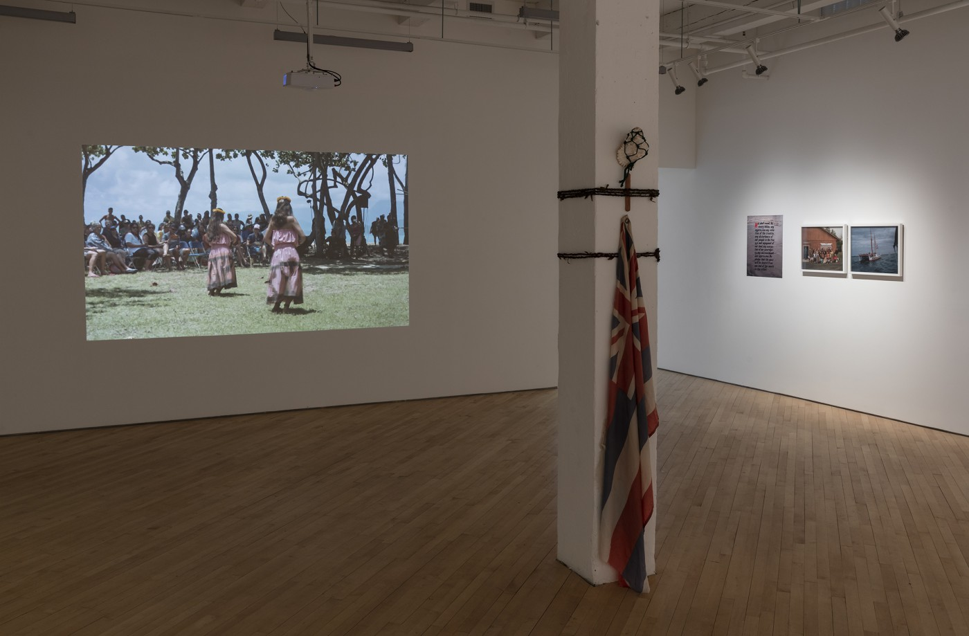 Installation view of Brendan George Ko, </span><span><em>Moemoeā</em>, </span><span>2018. Photo by Toni Hafkenscheid