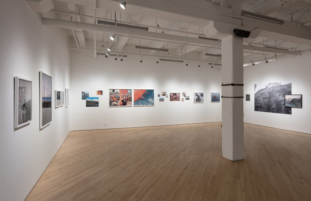 Installation view of Brendan George Ko