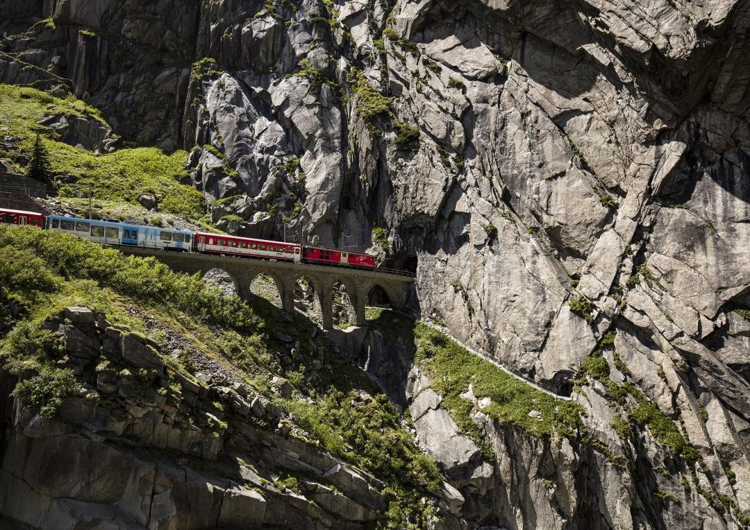 Dieter Hessel, Alpine Train