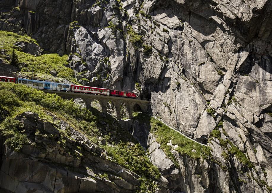 Dieter Hessel, </span><span><em>Alpine Train</em>