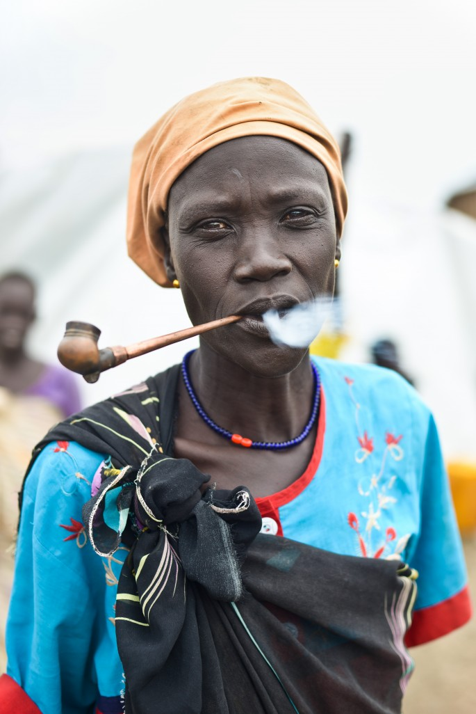 Samer Muscati, </span><span><em>Woman In South Sudan Camp For Displaced Persons</em>, </span><span>2015