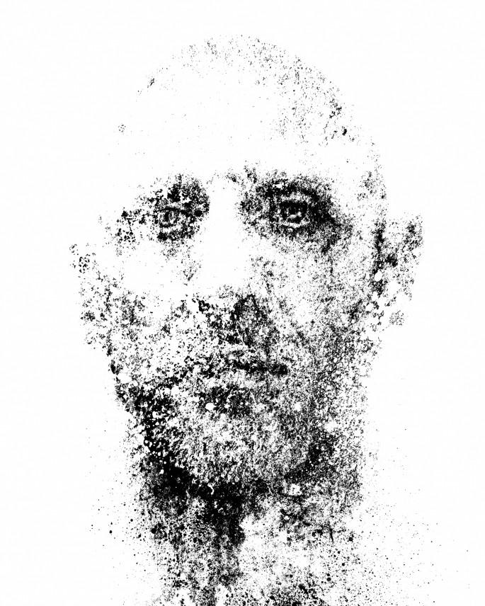 Frank Rodick, </span><span><em>untitled self no. 76</em>, </span><span>2017
