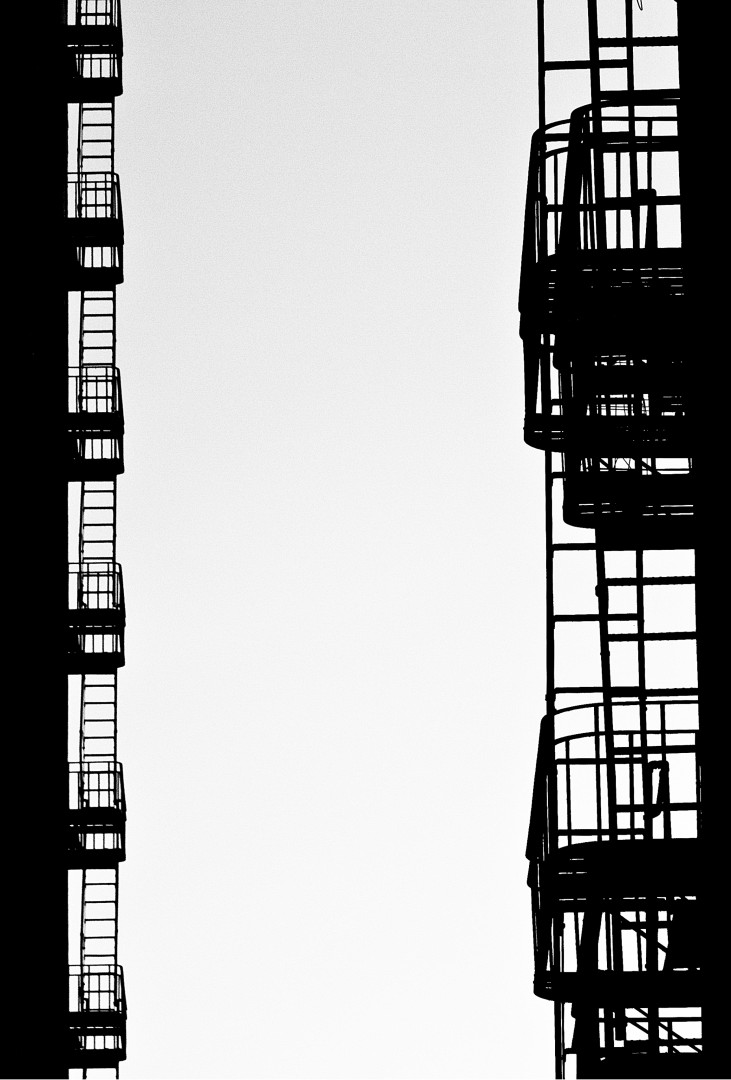 Anthony Schatzky, Fire Escapes - San Francisco, 2017