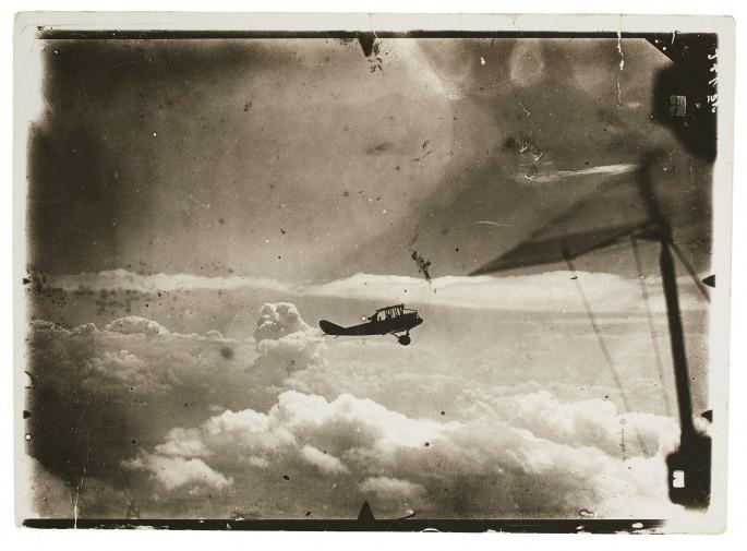 Unknown German, </span><span><em>Silhouette of airplane in flight</em>, </span><span>c. 1914 – 1918. Silver gelatin print. Anonymous Gift, 2004. 2004/303.2 © 2018 Art Gallery of Ontario