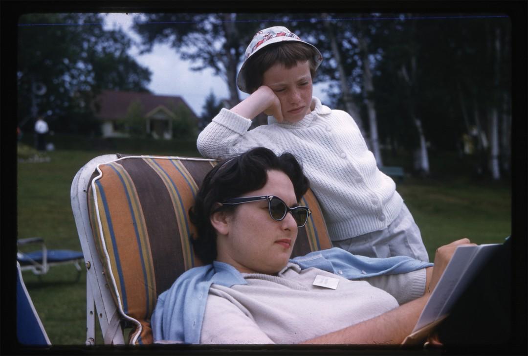 "John E. Ackerman, Frances, 1958. Archival Pigment Print, 5 x 7"". © Ontario Jewish Archives, Blankenstein Family Heritage Centre (UJA Federation), accession 2013-10-3"