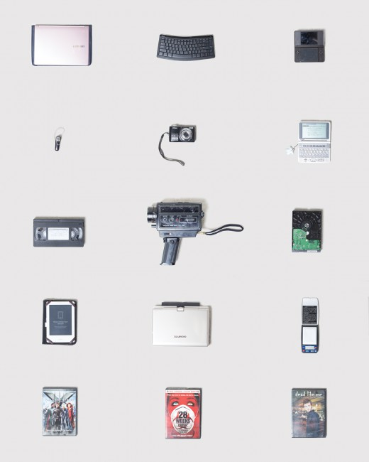 Julia Nemfield, </span><span><em>Miscellaneous Electronics</em>, </span><span>Photographic Print, 2018
