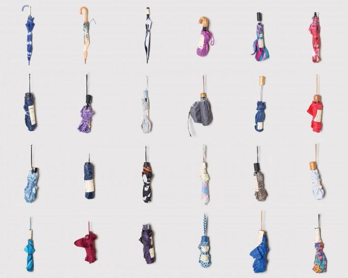 Julia Nemfield, </span><span><em>Umbrellas from October 13th</em>, </span><span>Photographic Print, 2018