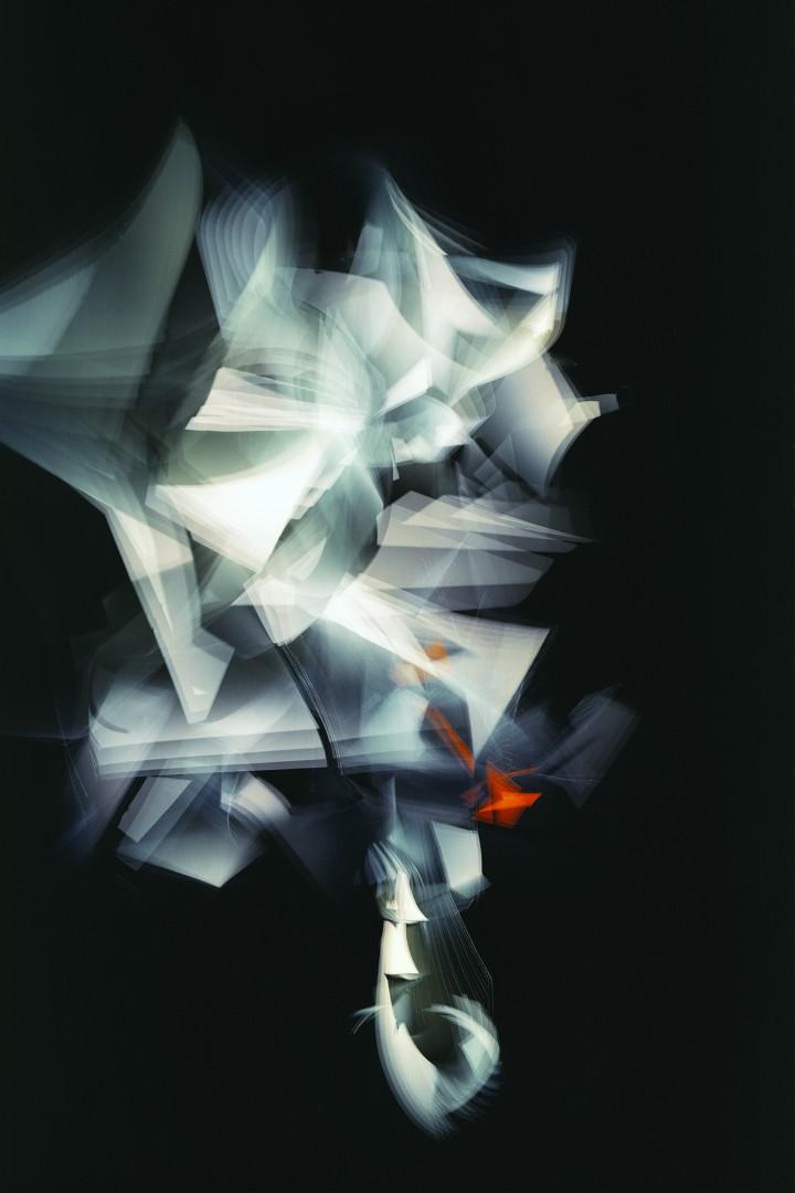 Adam Swica, </span><span><em>White to Orange Reflex</em>, </span><span>2018. Archival pigment print, 54 × 36&quot;. Courtesy of the artist and Christie Contemporary.