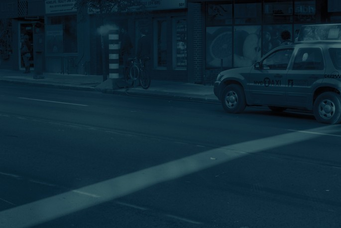 Sam Cotter, </span><span><em>Superimposition</em>, </span><span>2017. Cyanotype, 15 × 22&quot;.