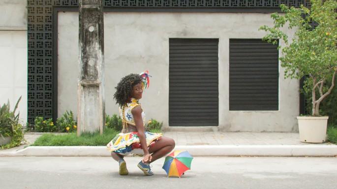 Bárbara Wagner &amp; Benjamin de Burca, </span><span><em>SET TO GO</em>, </span><span>2015. Film still (Part I). Courtesy Fortes D'Aloia &amp; Gabriel, São Paulo.