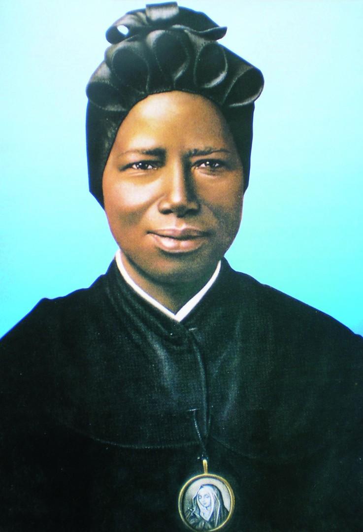 Piero Martinello, Saint Josephine Bakhita, (1869 – 1947), from the chapter Devotion. Courtesy: the artist