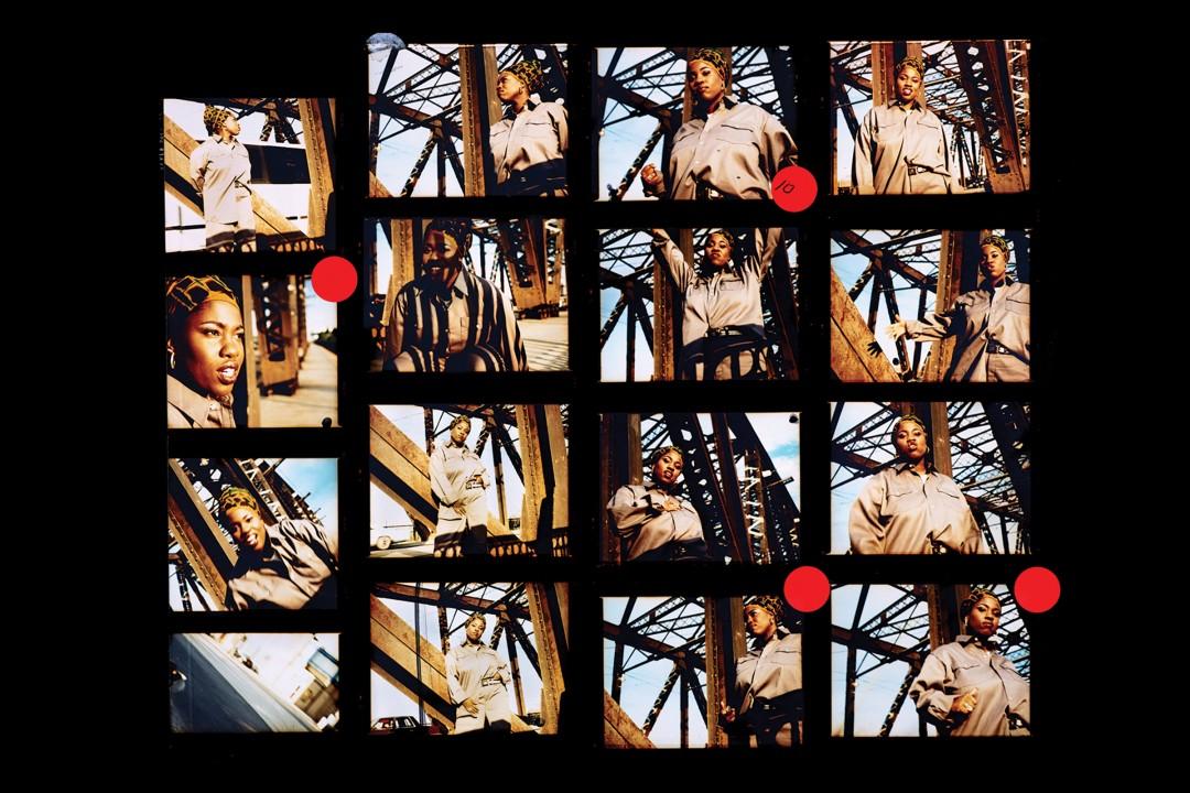 Stella Fakiyesi, Motion, c. 1992 - 1996. Inkjet backlit film. Courtesy of the artist.