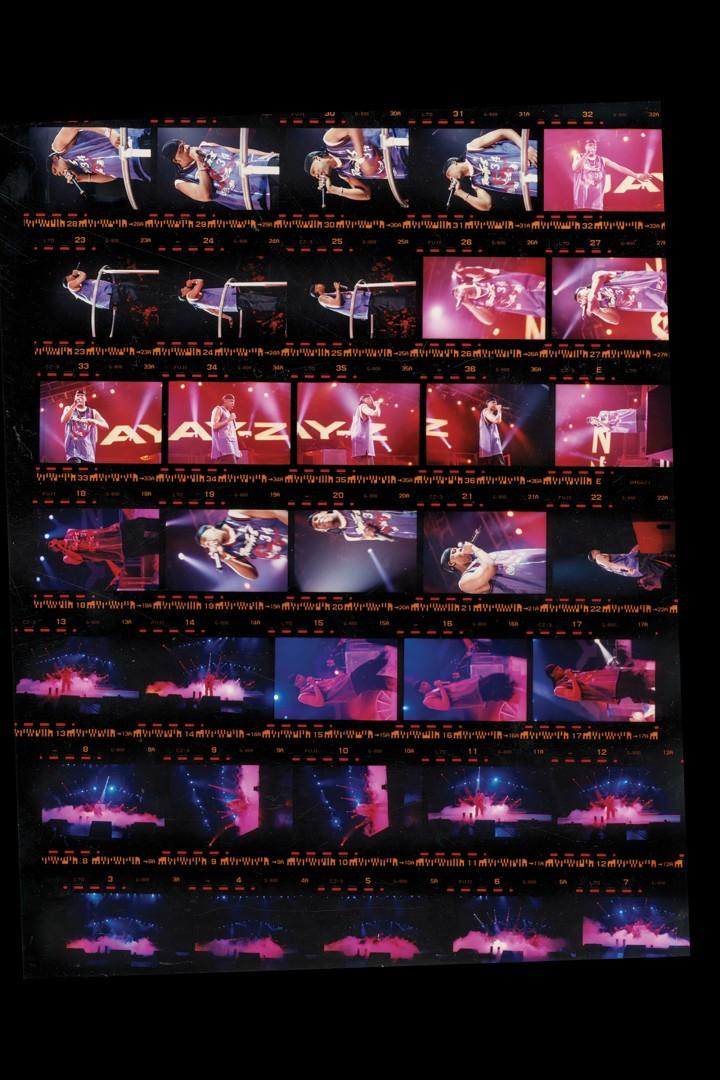 Sheinina Raj, Jay-Z in Concert, 2003. Inkjet backlit film. Courtesy of the artist.