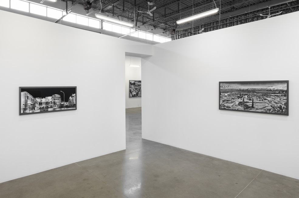Richard Mosse, </span><span><em>The Castle</em>, </span><span>exhibition at Arsenal Contemporary Toronto, April - June 2018. Photo by Toni Hafkenscheid.