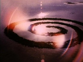 Robert Smithson, </span><span><em>film still from Spiral Jetty</em>, </span><span>1970. Courtesy Holt-Smithson Foundation and Electronic Arts Intermix (EAI) (New York)