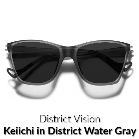 District Vision Keiichi Water Gray