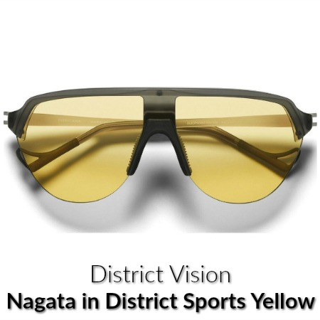 Distict Vision Nagata Sports Yellow