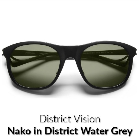District Vision Nako Water Grey