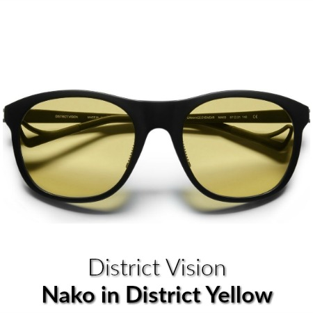 Distict Vision Nako Sports Yellow