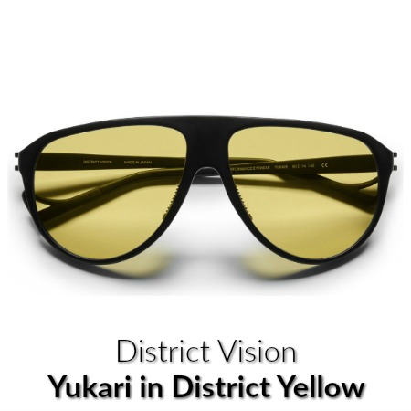 Distict Vision Yukari Sports Yellow