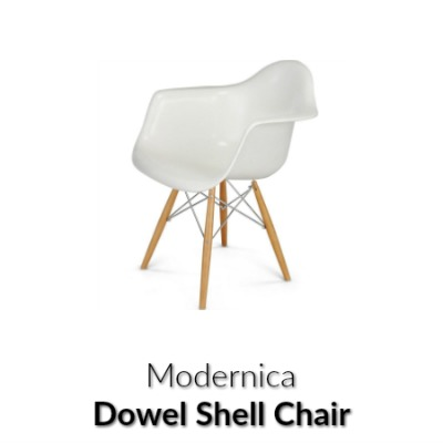 Dowel Shell Chair