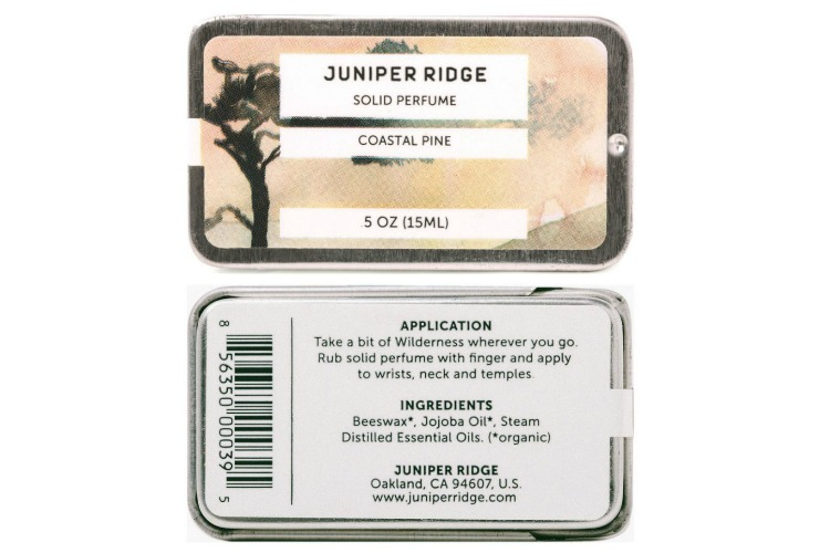 Juniper Ridge Solid Perfume