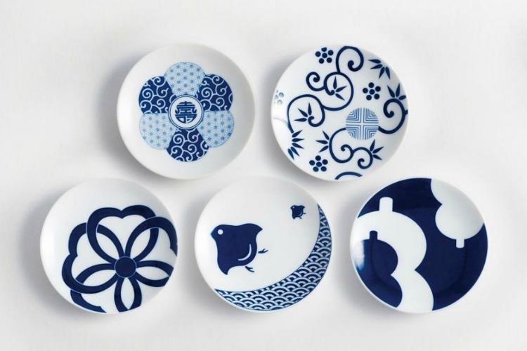 Kihara Lucky Charm Plates