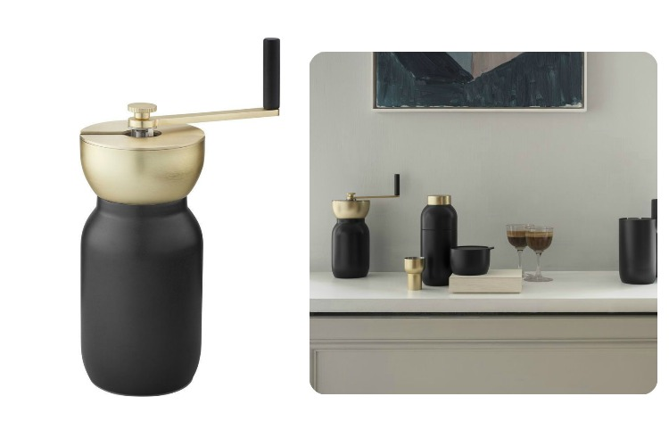Stelton Collar Steel Coffee Grinder