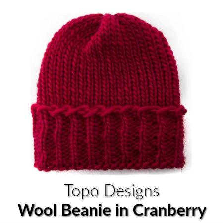 Topo Designs Wool Beanie