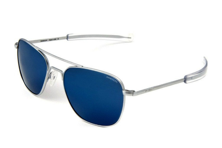 Randolph Engineering Aviator Chrome Sunglasses